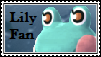 Lily The Frog Fan Stamp by tinystalker