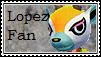 Lopez Fan Stamp by tinystalker