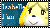 Isabelle Fan Stamp by tinystalker