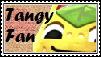 Tangy Fan Stamp by tinystalker