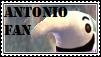 Antonio Fan Stamp by tinystalker