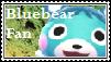 Bluebear Fan Stamp
