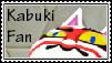 Kabuki Fan Stamp by tinystalker