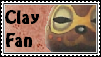 Clay Fan Stamp by tinystalker