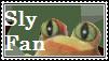 Sly Fan Stamp by tinystalker