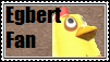 Egbert Fan Stamp by tinystalker