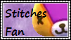 Stitches Fan Stamp by tinystalker