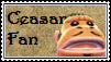 Ceasar Fan Stamp by tinystalker