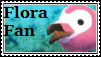 Flora Fan Stamp by tinystalker
