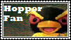 Hopper Fan Stamp by tinystalker