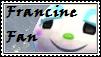 Francine Fan Stamp by tinystalker