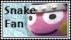 Snake Fan Stamp by tinystalker