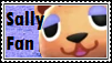 Sally Fan Stamp by tinystalker