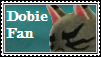 Dobie Fan Stamp by tinystalker