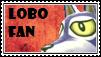 Lobo Fan Stamp by tinystalker