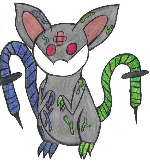 Needle Tail Rat Adoptable OPEN