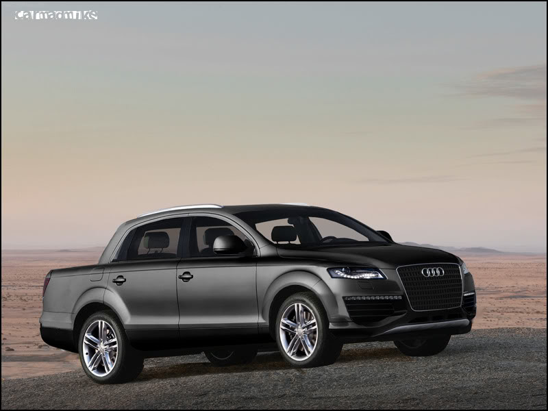 Audi Q7 Pickup By Car Mad Mike On Deviantart