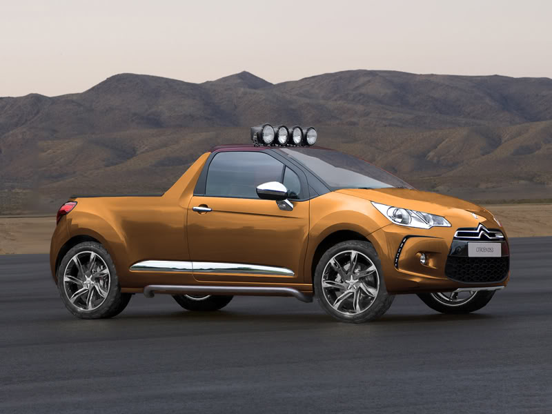 citroen ds3 pickup by car mad mike on deviantart. Black Bedroom Furniture Sets. Home Design Ideas