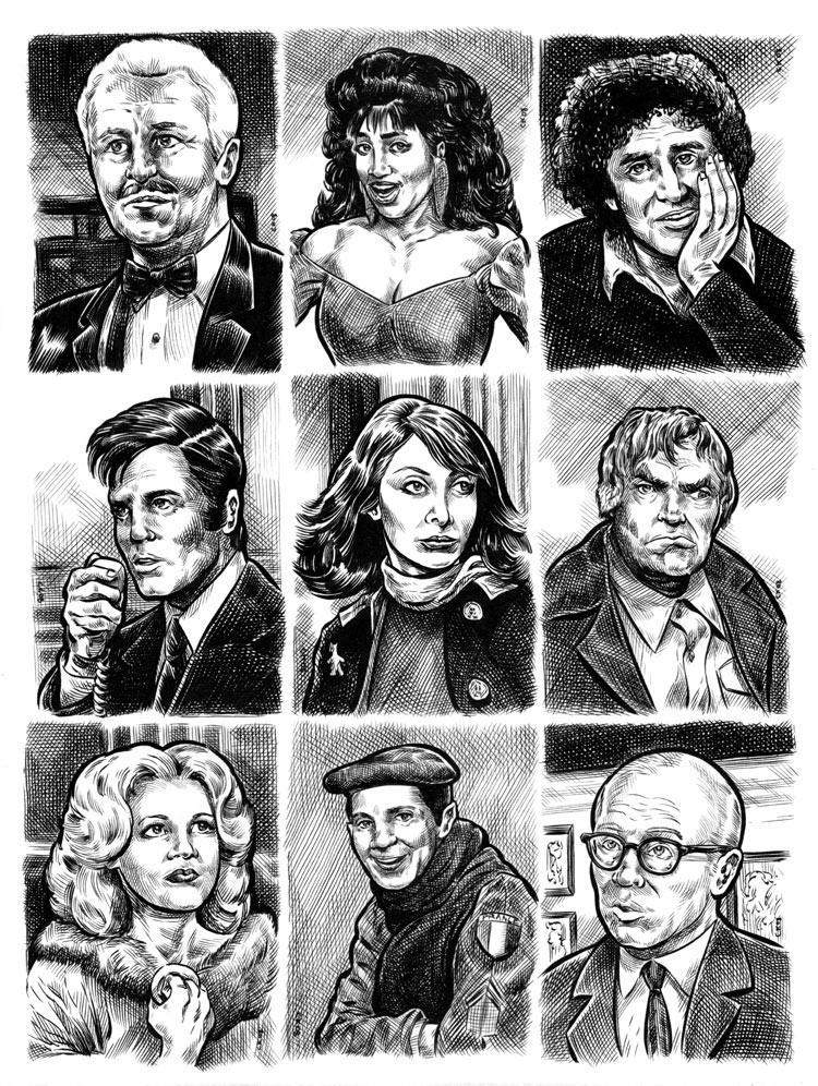 Character Actors uncut sheet 4