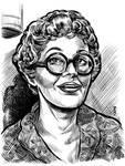Ruby Bartlett sketch card by dalgoda7