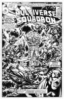 Multiverse Squadron Cover by dalgoda7