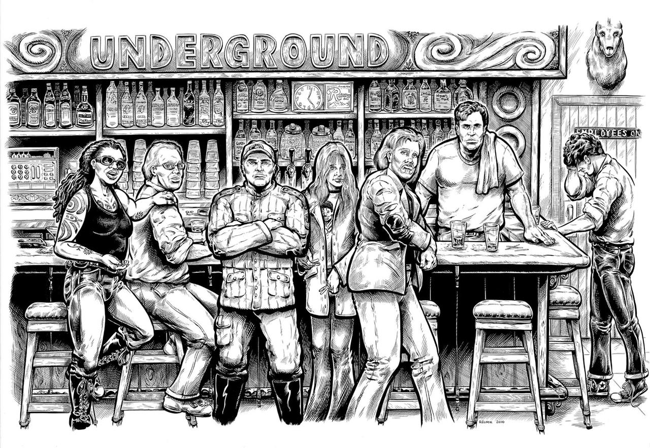 Portland Underground, Cover 1 by dalgoda7