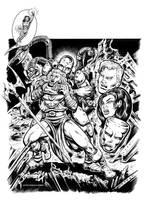 Sentinels - Metalgod Cover by dalgoda7