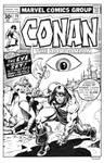 Conan 79 Cover Recreation