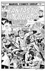 Fantastic Four 176 Cover Recreation by dalgoda7