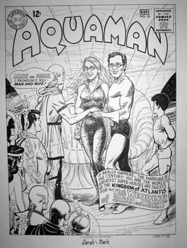Aquaman 18 Cover Modification