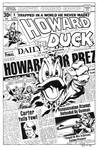 Howard the Duck 8 Cover Recreation