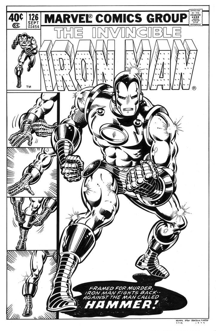 Iron Man 126 Cover Recreation by dalgoda7