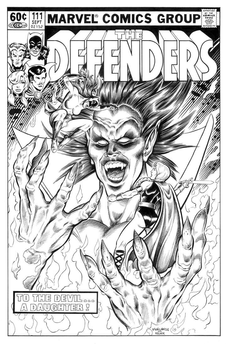 Mephisto Inks - Defenders 111 Reimagining by dalgoda7