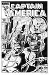 Captain America 286 Cover Recreation