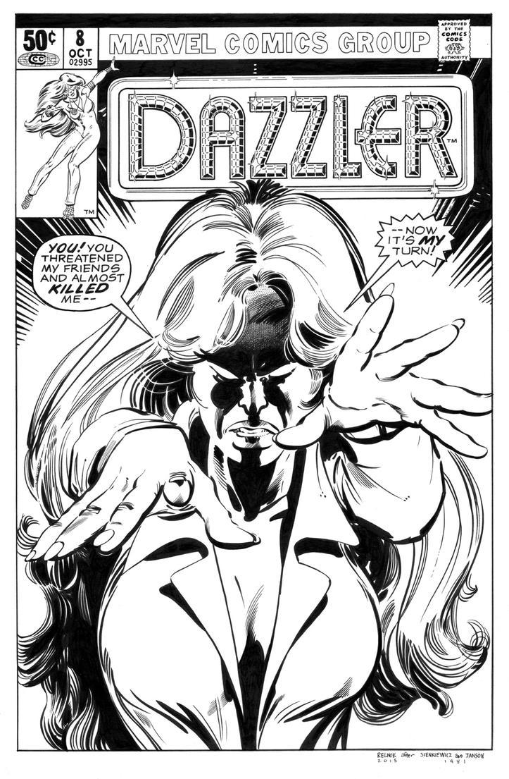 Dazzler 8 Cover Recreation by dalgoda7