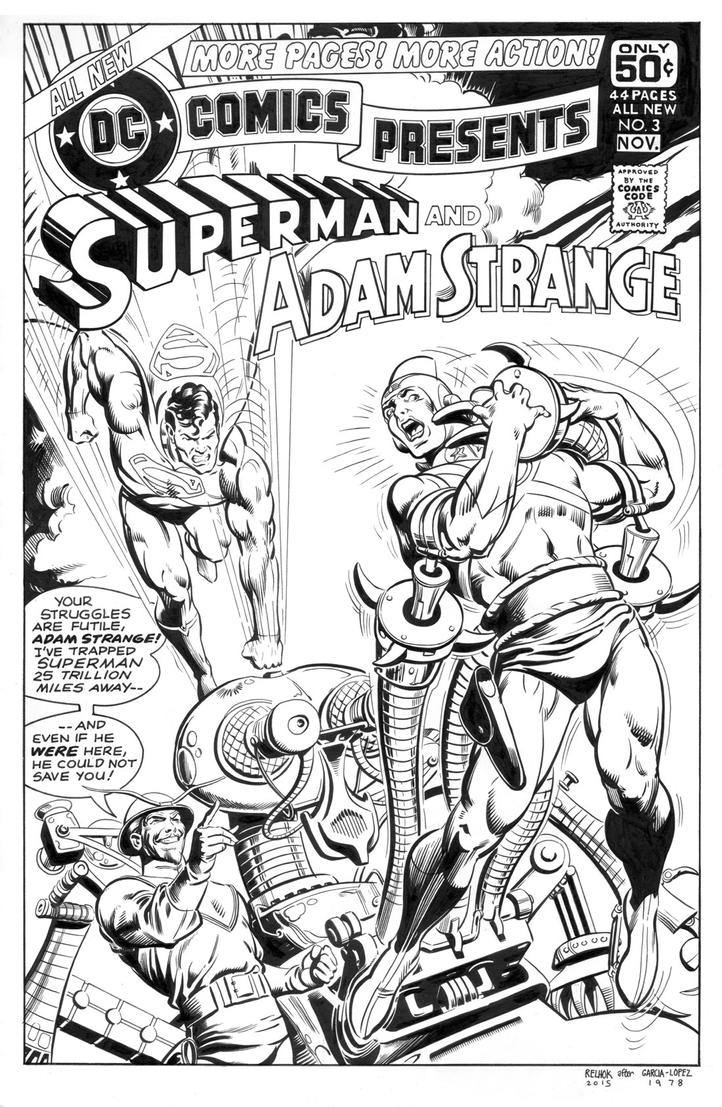 DC Comics Presents 3 Cover Recreation by dalgoda7