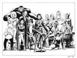DC Villains 1978 Poster Recreation