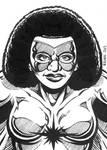 Sketch Card: Captain Marvel II