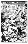 Fantastic Four #220 Cover Recreation