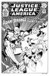 Justice League of America 138 Cover Recreation