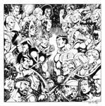 Avengers-JLA Perez Recreation