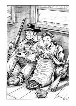 Comanche Blood Illustration #1