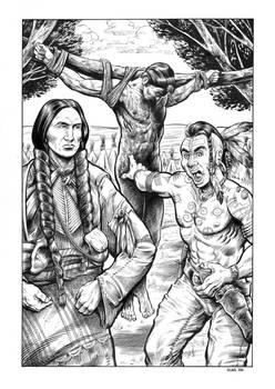 Comanche Blood Illustration #2
