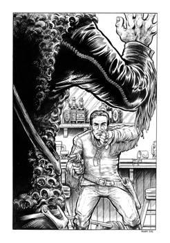 Comanche Blood Illustration #5