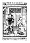Comanche Blood Illustration #6