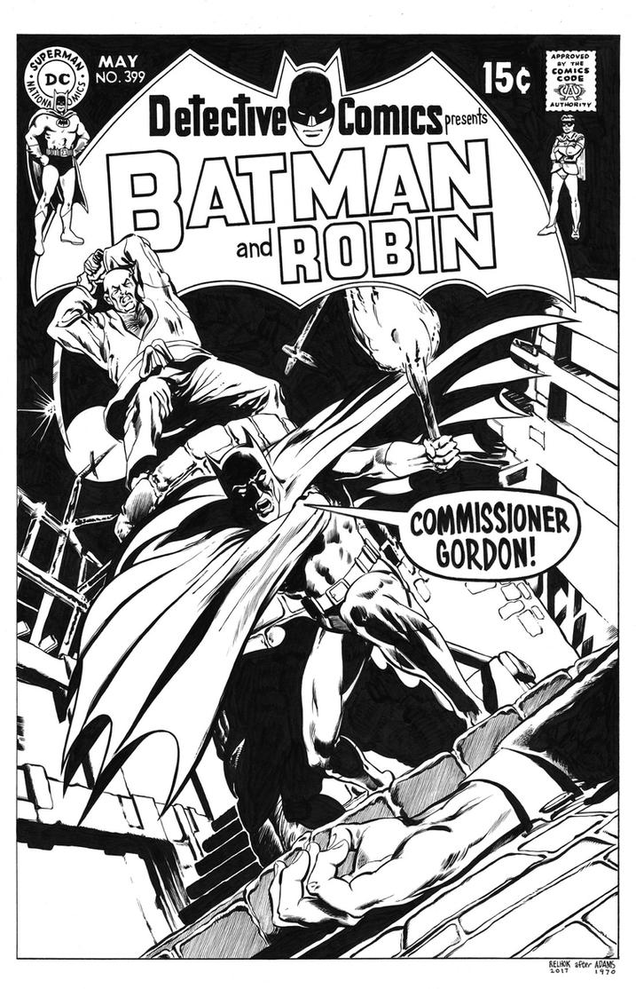 Detective Comics #399 Cover Recreation by dalgoda7