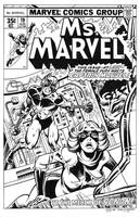 Ms. Marvel #19 Cover Recreation by dalgoda7