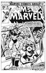 Ms. Marvel #19 Cover Recreation