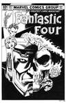 Fantastic Four #257 Cover Recreation