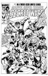 Secret Wars #1 Cover Recreation